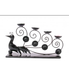 Handmade Bastar Iron Craft Beautiful Design Of Bird For Decoration Purpose