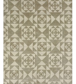 Hand Knotted Carpet Of Bhadohi Mustard Color