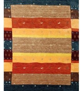 Hand Tufted Colorful Wool Carpet Of Bhadohi