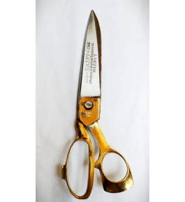 Exemplary Manufactured Meerut German Type Ordinary Scissor With Brass Handle For Home And Professionals