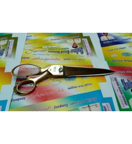 Exemplary Manufactured Meerut American Brass Scissor With Brass Handle For Home And Professionals