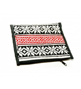 Unique Hand Woven Toda Embroidery Wallet Hand Purse