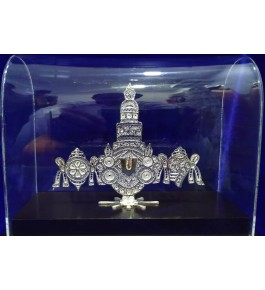 Traditional Handicraft Silver Filigree Balaji Design For Decoration Purpose