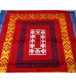 Best Handloom made Bhavani Jamakkalam Carpets 8x20 ft on Ravishing Red Base