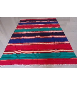 Best Handloom made Bhavani Jamakkalam Multicolor Cotton Carpet 10 x 20 ft