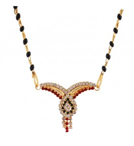 Gold Plated Tricolor V Style Tanmaniya Art