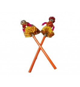 Kathputlis Of Rajasthan Handmade Colorful Doll Pencil By Aakash Self Help Group