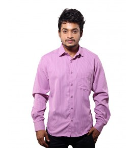Favio Casual Cotton Pink Men's Shirt