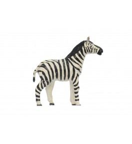 Indore Leather Toy of Zebra Sculpture