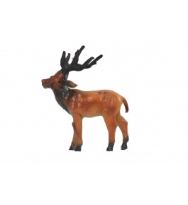 Indore Leather Toy of Deer Sculpture