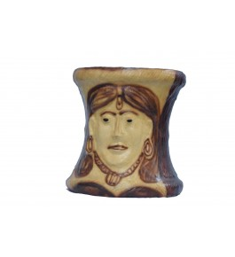 Leather Toy Of Indore Female Face Sculpture Mooda By Shareef Arts