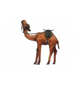 Leather Toy Of Indore Camel Sculpture By Shareef Khan