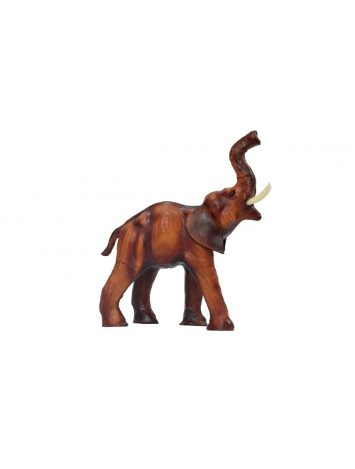 Indore Leather Toy of Elephant Sculpture