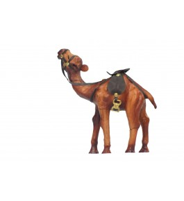 Leather Toy Of Indore Camel Sculpture By Shareef Arts