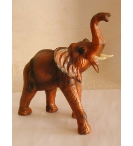 Leather Toy Of Indore Elephant Sculpture By Shareef Khan