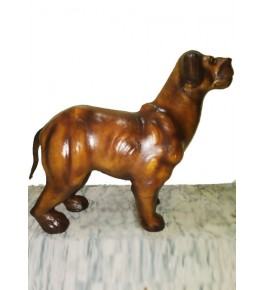 Indore Leather Toy of Dog Animal Sculpture