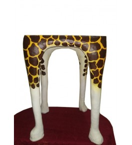 Indore Leather Toy of Animal Foot Shape Stool