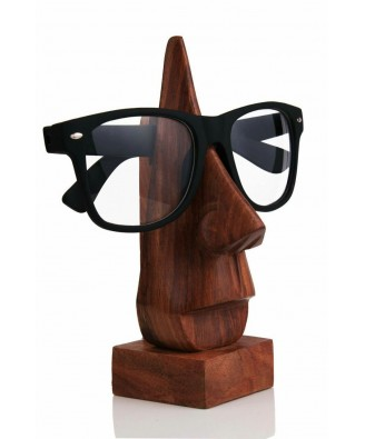 Saharanpur Wooden Nose Shapped Spectacle stand