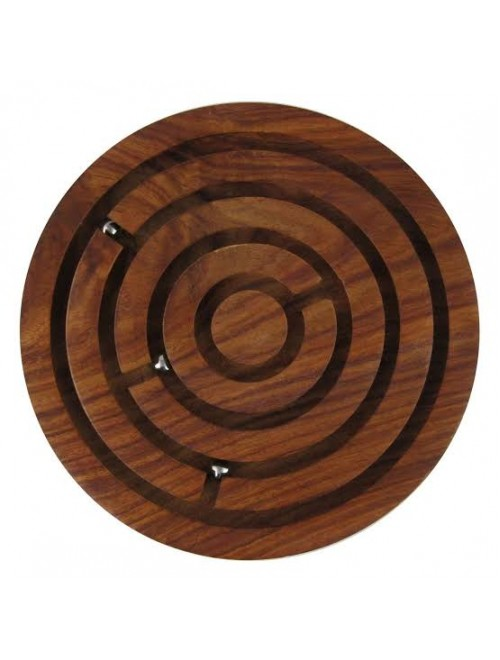 Hand Crafted Ball-In-A-Maze Puzzles Of Saharanpur Wood Craft