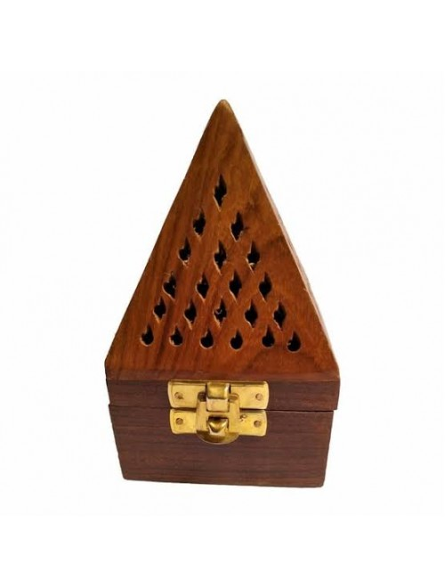 Beautiful Handcrafted Saharanpur Wooden Incense Holder