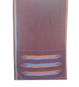 Beautiful Cotton & Art Silk Warp Tope Teni Ilkal Saree with Border for Women