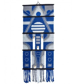 Royal Solapur Wall Hanging Blue Color For Wall Decor