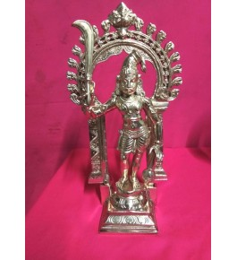 Antique Piece of Swamimalai Bronze Icons South Saint 22""
