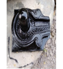 Traditional Artwork of Durgi Stone Carvings Shivling Statue for Home Decor