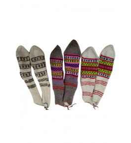 Elegant Handloom Comfy Warming Kullu Socks Of Himachal Pradesh