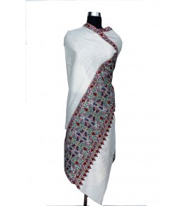 Hand Woven & Crafted Kashmir Pashmina Shawl For Women By United Art & Craft