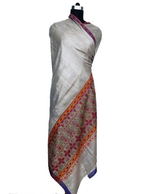 Kashmir Pashmina Shawl Hand Woven & Crafted For Women By United Art & Craft