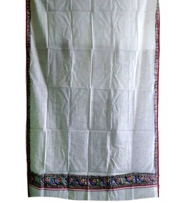 Men's Ethnic and Traditional Madhubani Painted Cotton Gamcha