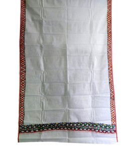 Men's Ethnic and Traditional Madhubani Hand Painted Beautiful Border Cotton Gamcha
