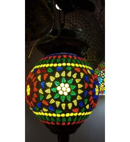 Elegant Handicraft Firozabad Glasswork Craft Beautiful Design Of Lighting Lamp