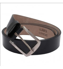 ARIZIC Formal Black Genuine Leather Belt For Men