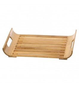 Silpakarman Bamboo Serving Tray By Tad Udyog Private Limited