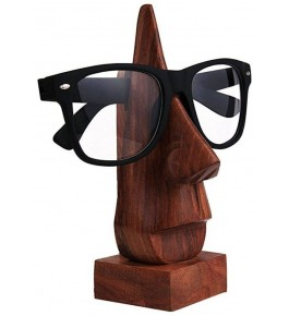 Handmade Wooden Nose Shaped Spectacle Specs Eyeglass Holder Stand By Star India Craft