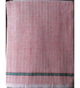 Hand Woven Cotton Pink Gamacha for Men