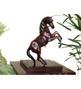 Leather Toy Of Indore Horse Animal By Appu Arts