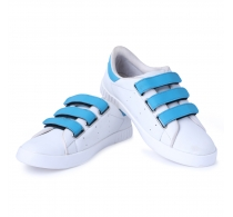 Scootmart White Velcro Casual Shoes For Men