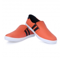 Scootmart Orange Loafer For Men