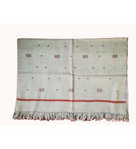 Kullu Shawl Hand Woven & Crafted Woolen By The Manisha Mahila Handloom
