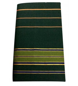 Balaramapuram Handloom Designer Dark Green Cotton Saree for Women