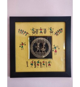 Bastar Dhokra Traditional Beautiful Design Photo Frame For Wall Decor