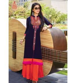 Bombay Threadz Designer Rayon Kurti For Women