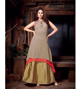 Bombay Threadz Designer Georgette Kurti For Women