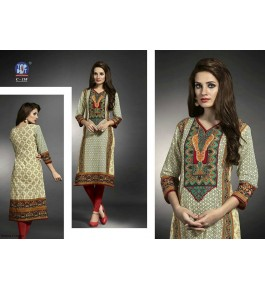 Women's Printed Cotton Kurti