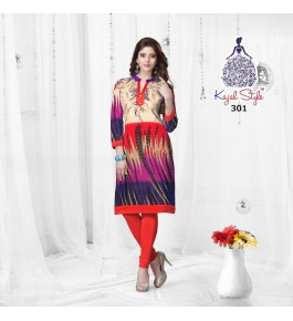Bombay Threadz Printed Cotton Kurti For Women