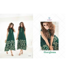 Women's Georgette Embroidery Kurti