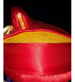 Maharashtra Proud Puneri Pagadi in Red Colour For Wedding & Party Wear